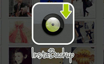 Instabackup developed by DotFive Labs - Android and iOS